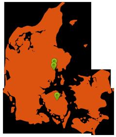 Kontakt Spraytan.dk lokationer